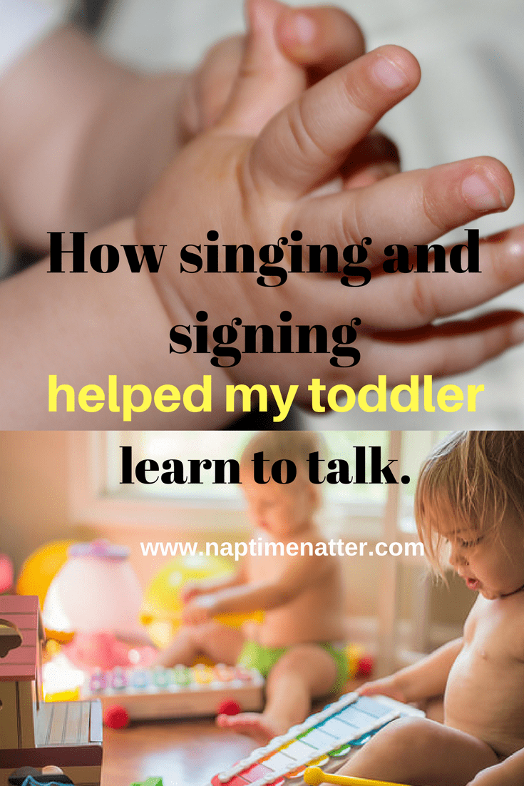Baby sign language benefits www.naptimenatter.com