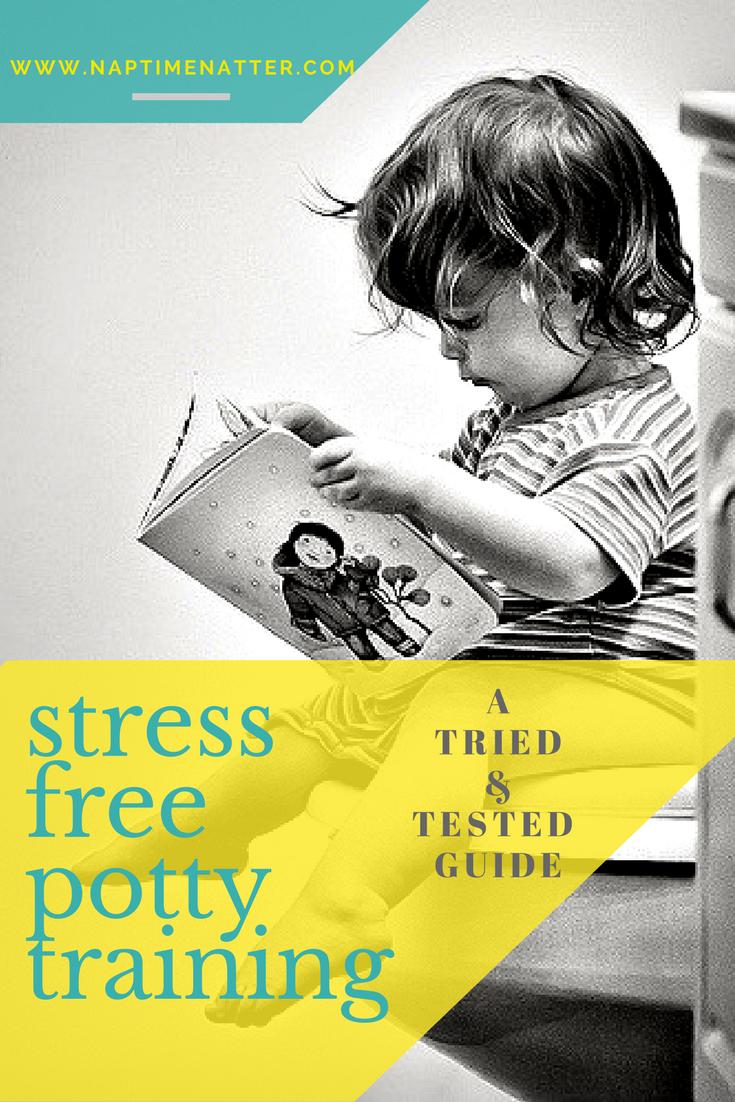 stress free potty training