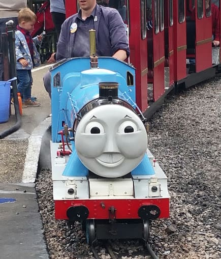 A day out with Thomas at Eastleigh steam railway