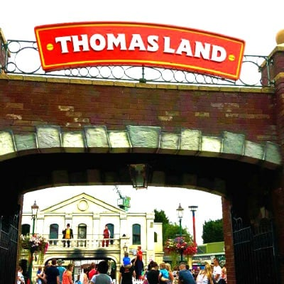 Thomas Land, a fab day out for toddlers