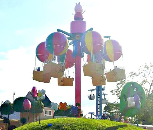 Our day out at Paultons Park and Peppa Pig World