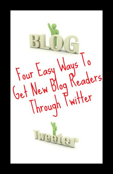 4 easy ways to get new blog readers through Twitter – Guest post from My Random Musings