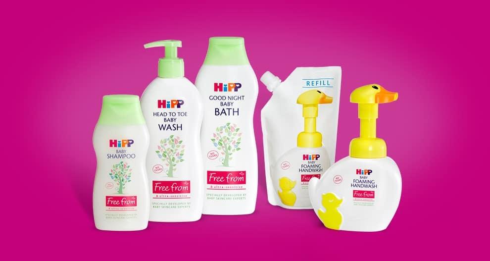 HiPP free from