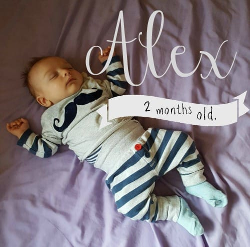 Baby update – Alex is 2 months