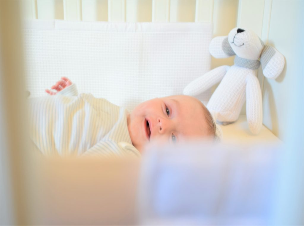 SafeDreams cot wrap and baby soft toy review