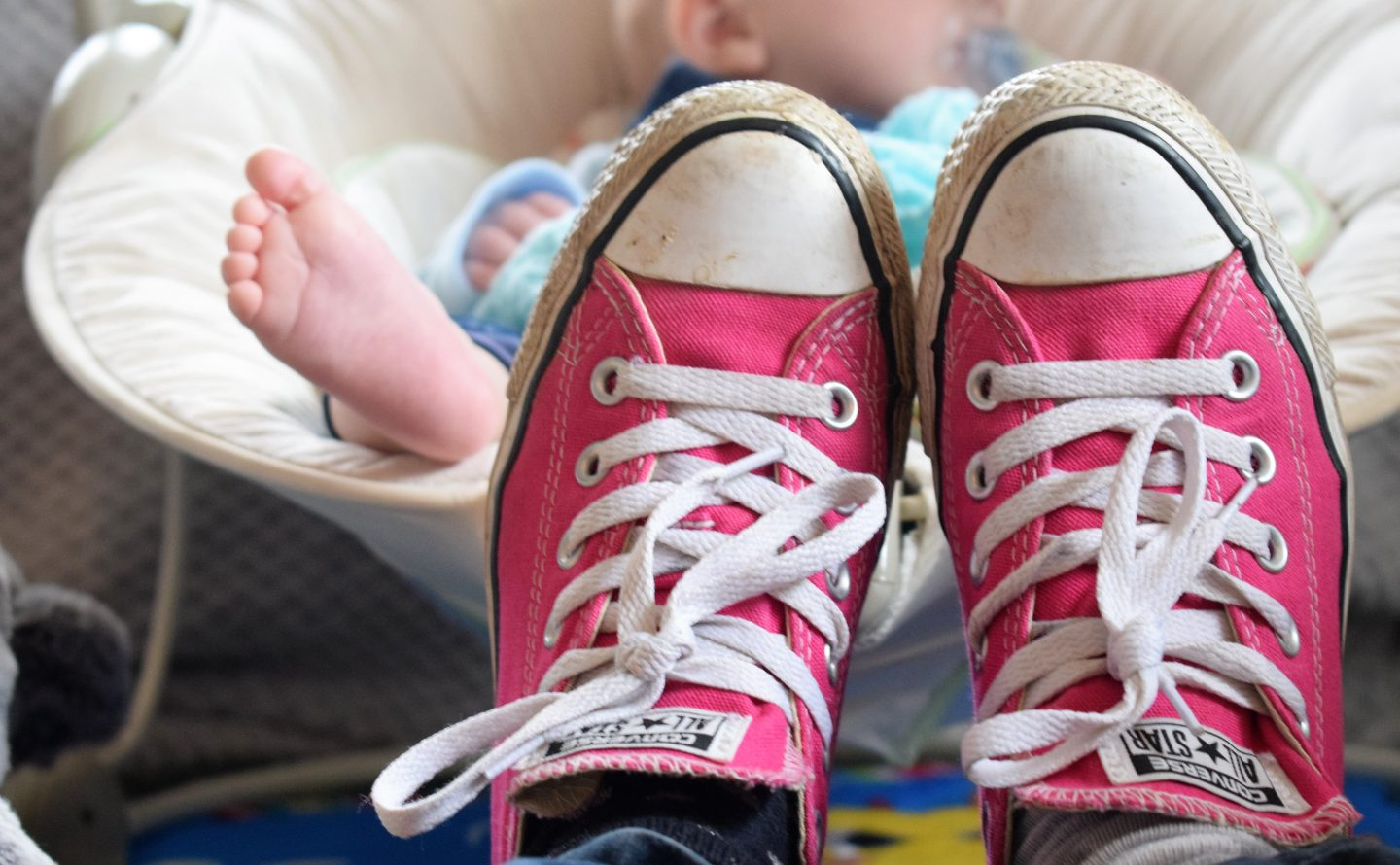 5 reasons all busy mums need a pair of Converse