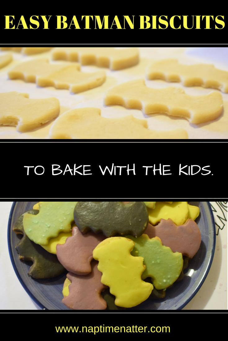 Batman biscuits