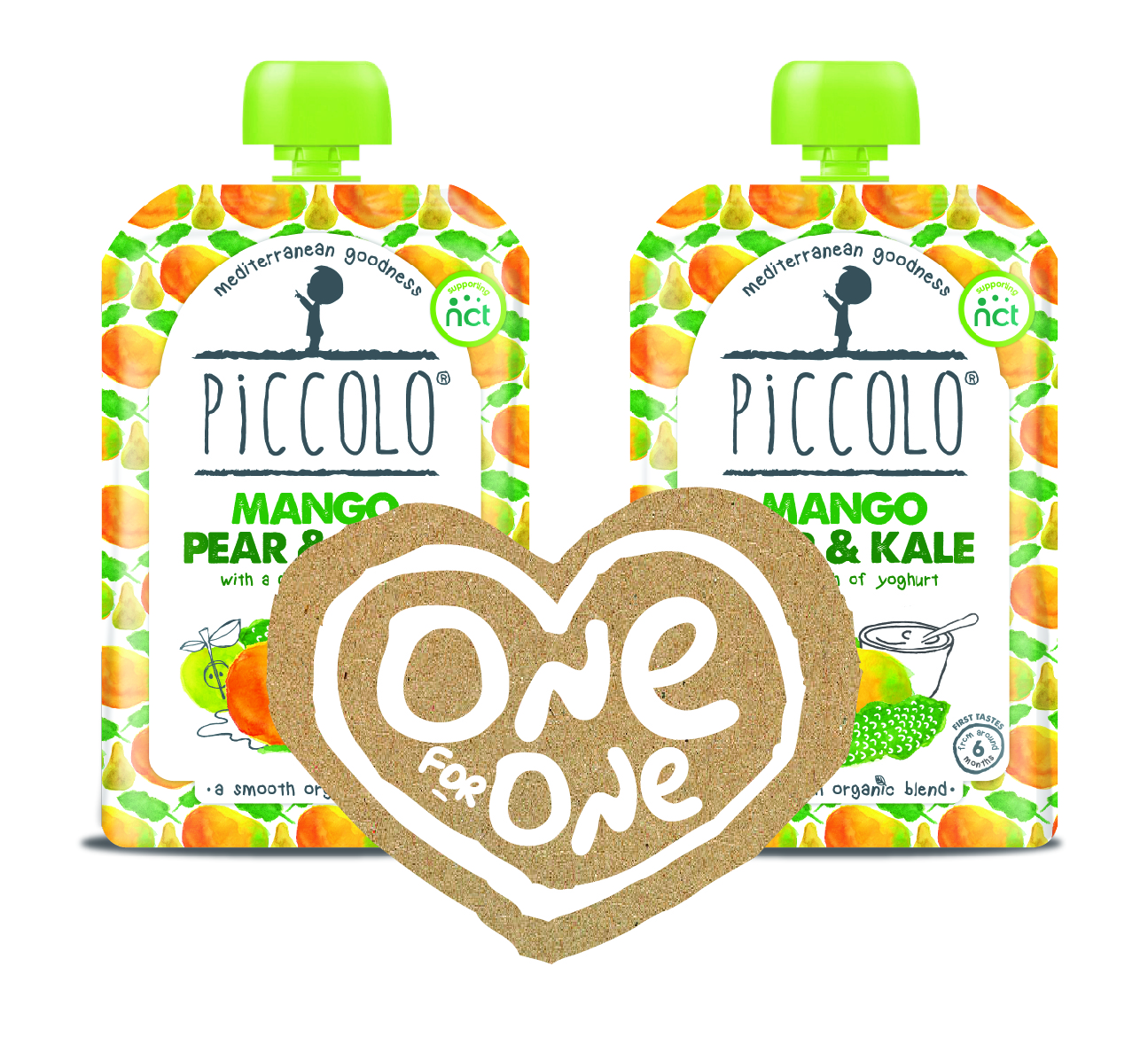 Piccolo launches One for One campaign – help vulnerable families and WIN a month's supply of Piccolo pouches