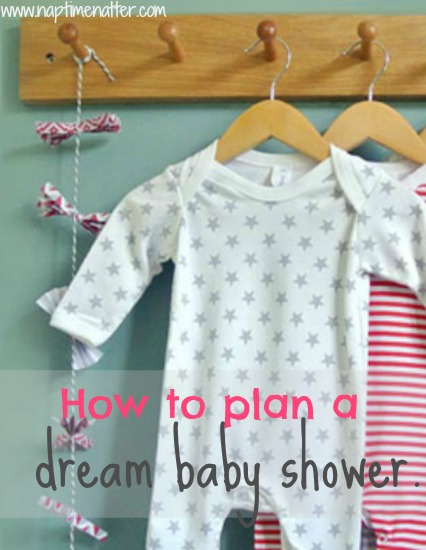 How to plan a dream baby shower