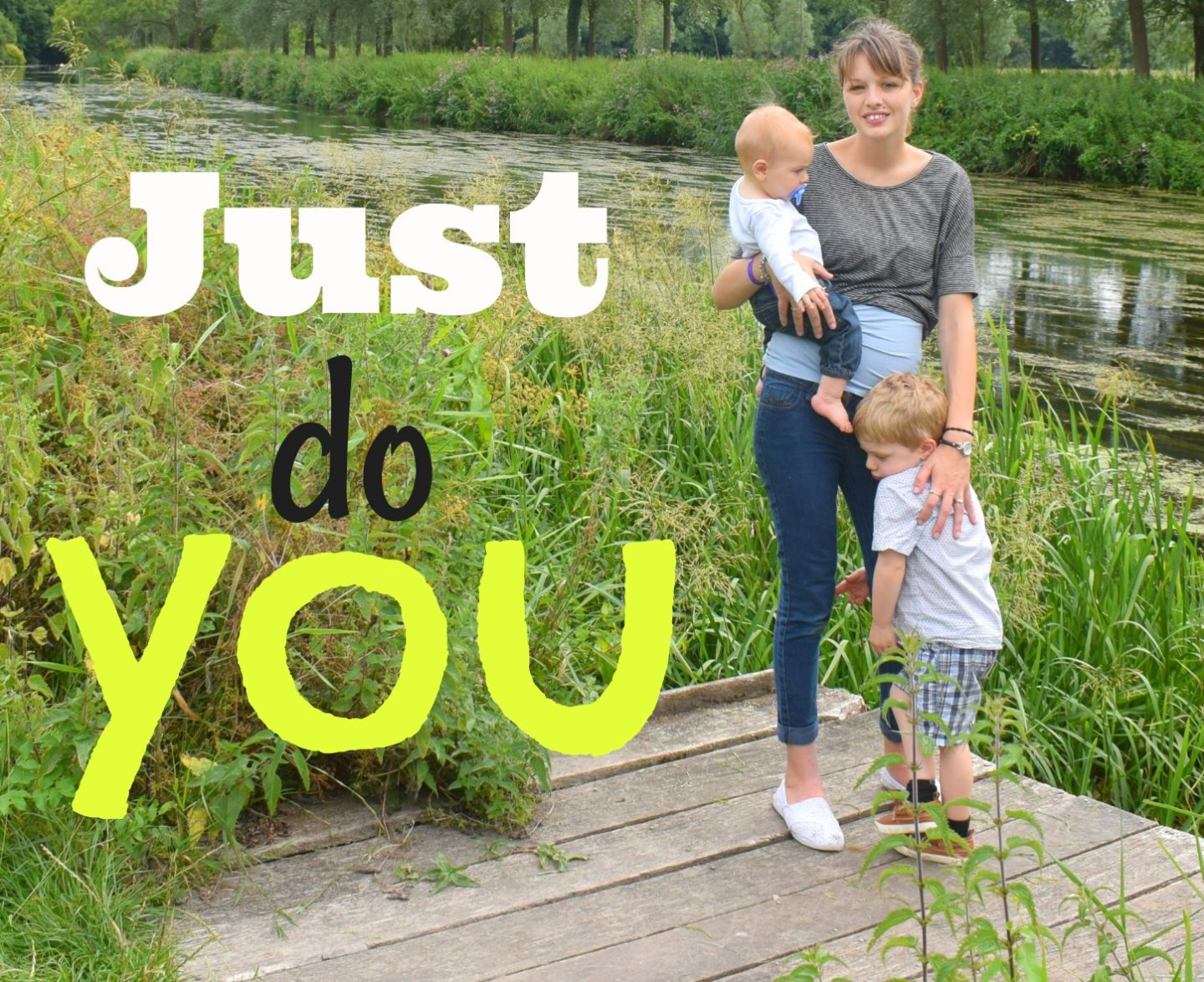 Just do you – the only parenting advice you should definitely follow
