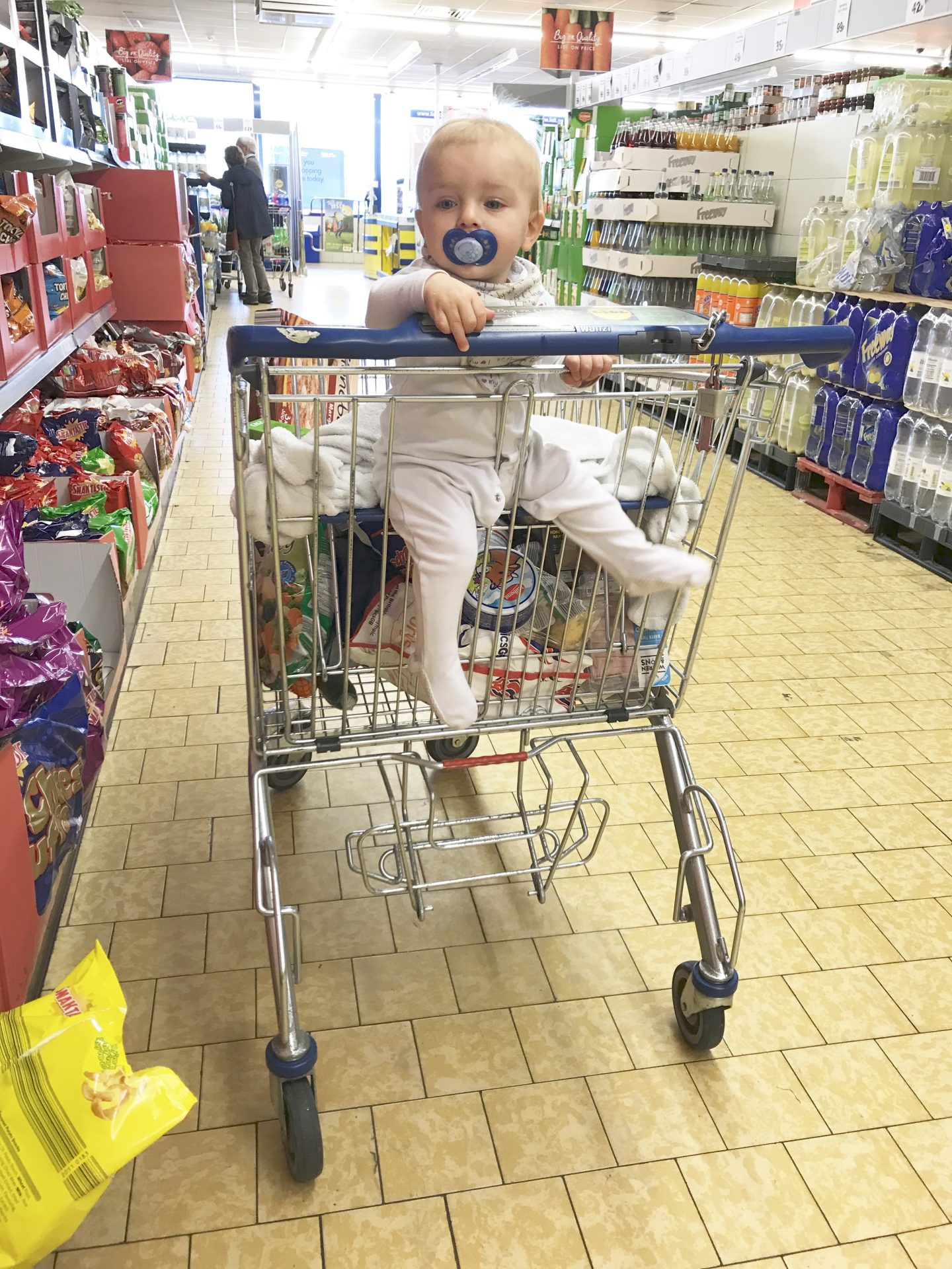 Lidl, why are there no seatbelts on your trollies? – An open letter