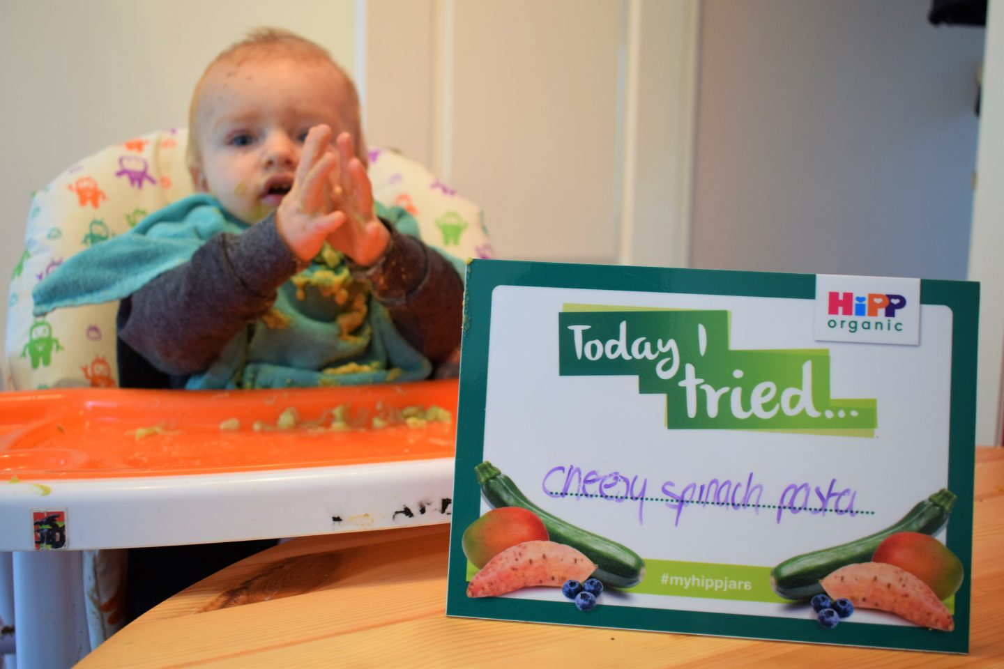 Weaning with HiPP Organic – introducing textured food to your baby