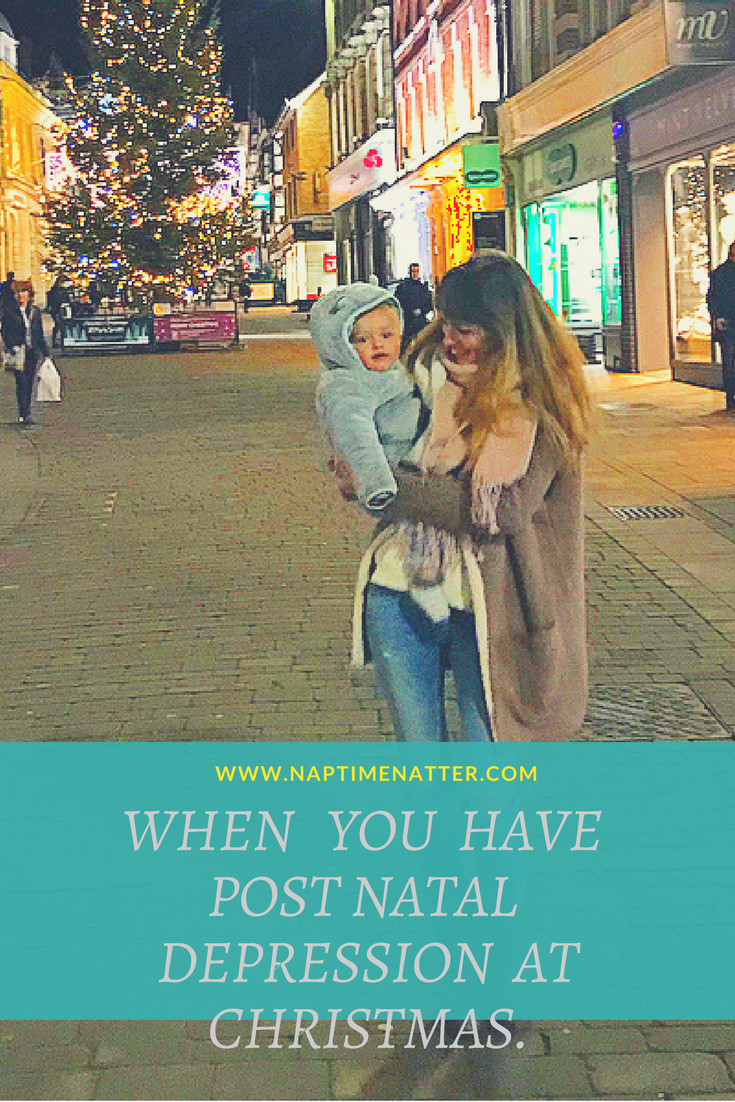 post natal depression at christmas
