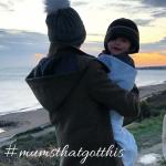instagram community mum holding baby