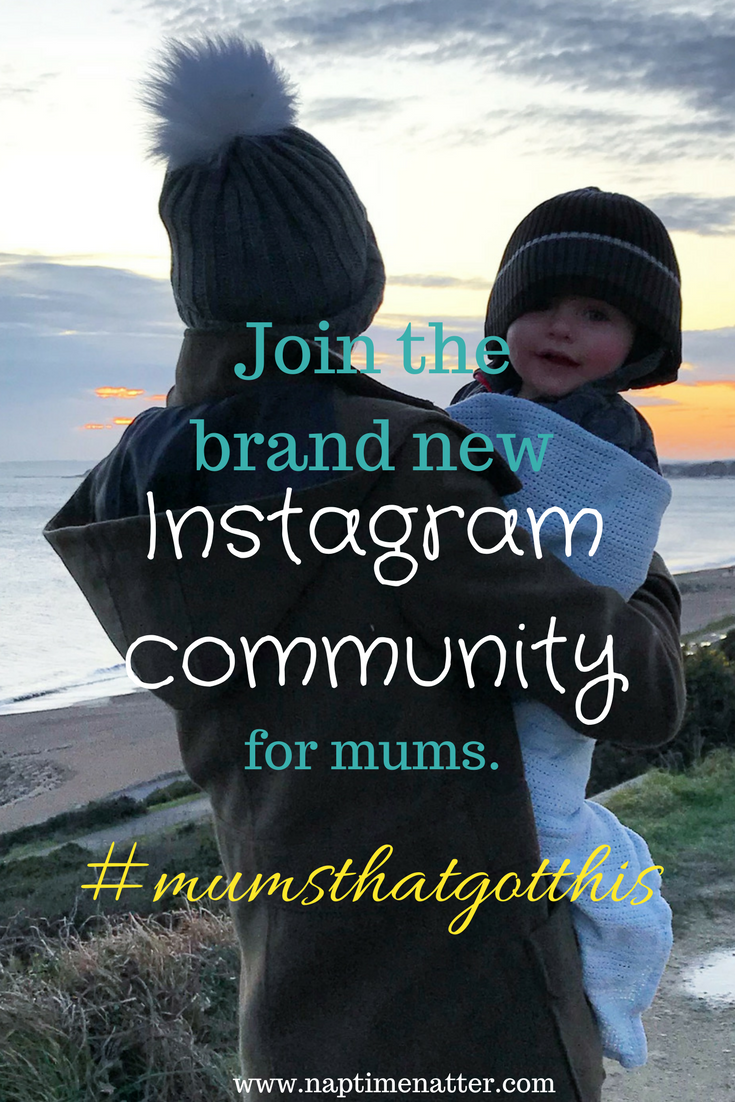 join the brand new instagram community for mums
