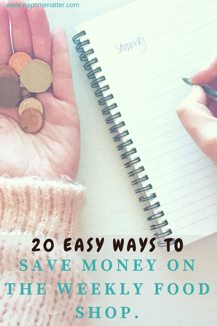 20 easy ways to save money on the weekly food shop