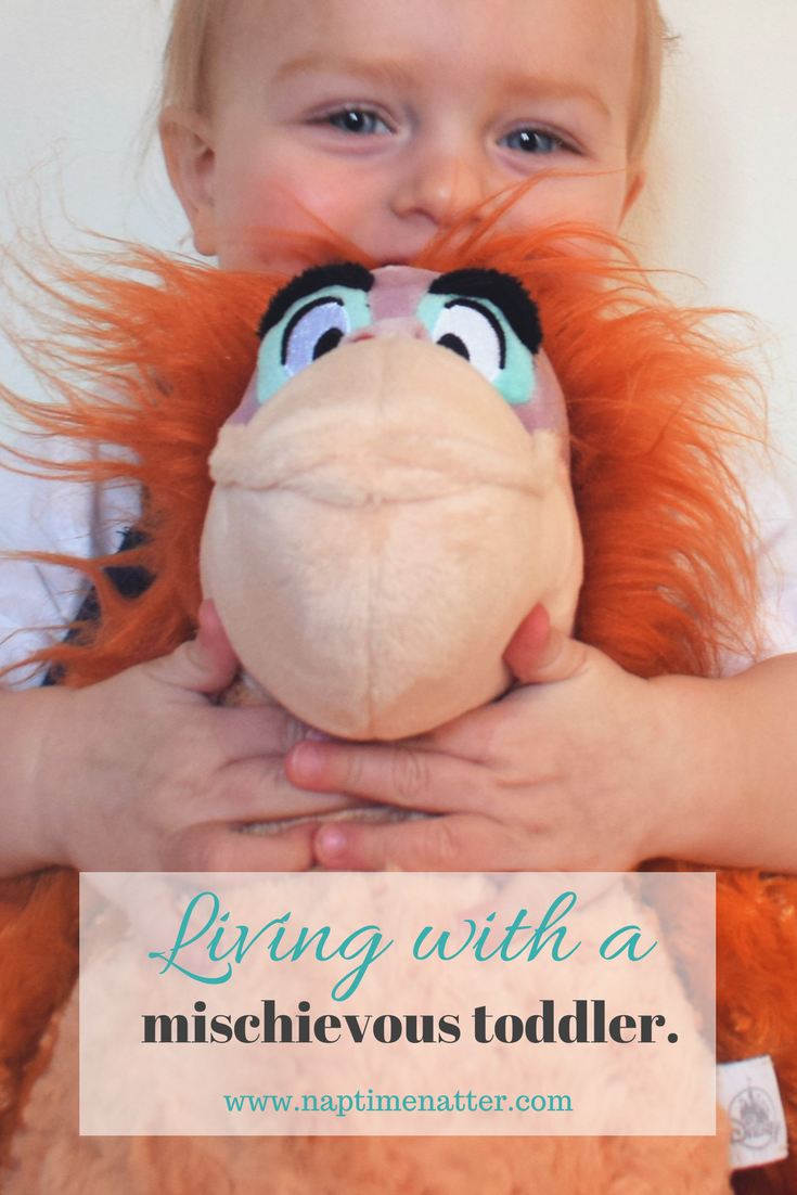 living with a mischievous toddler