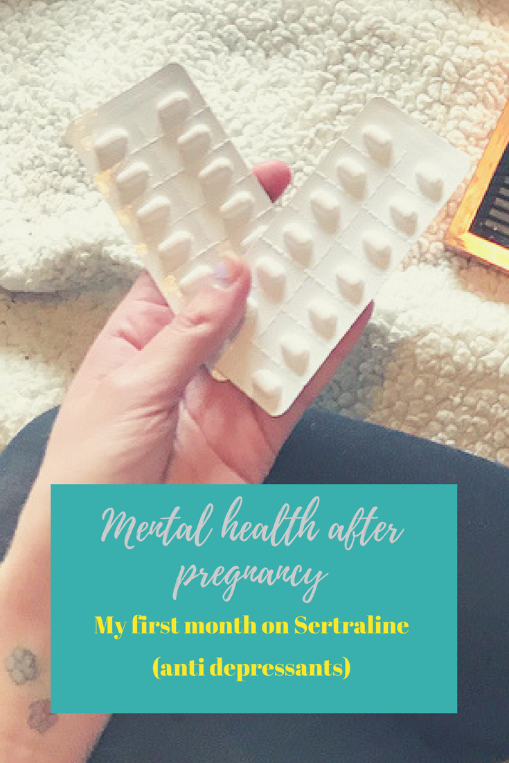 mental health after pregnancy my first month on anti depressants