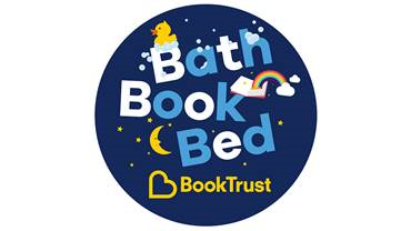bath book bed