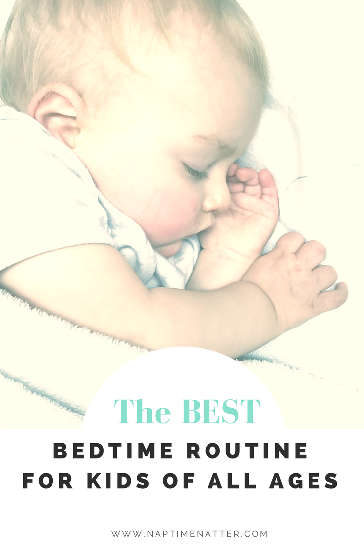 the best bedtime routine for kids of all ages