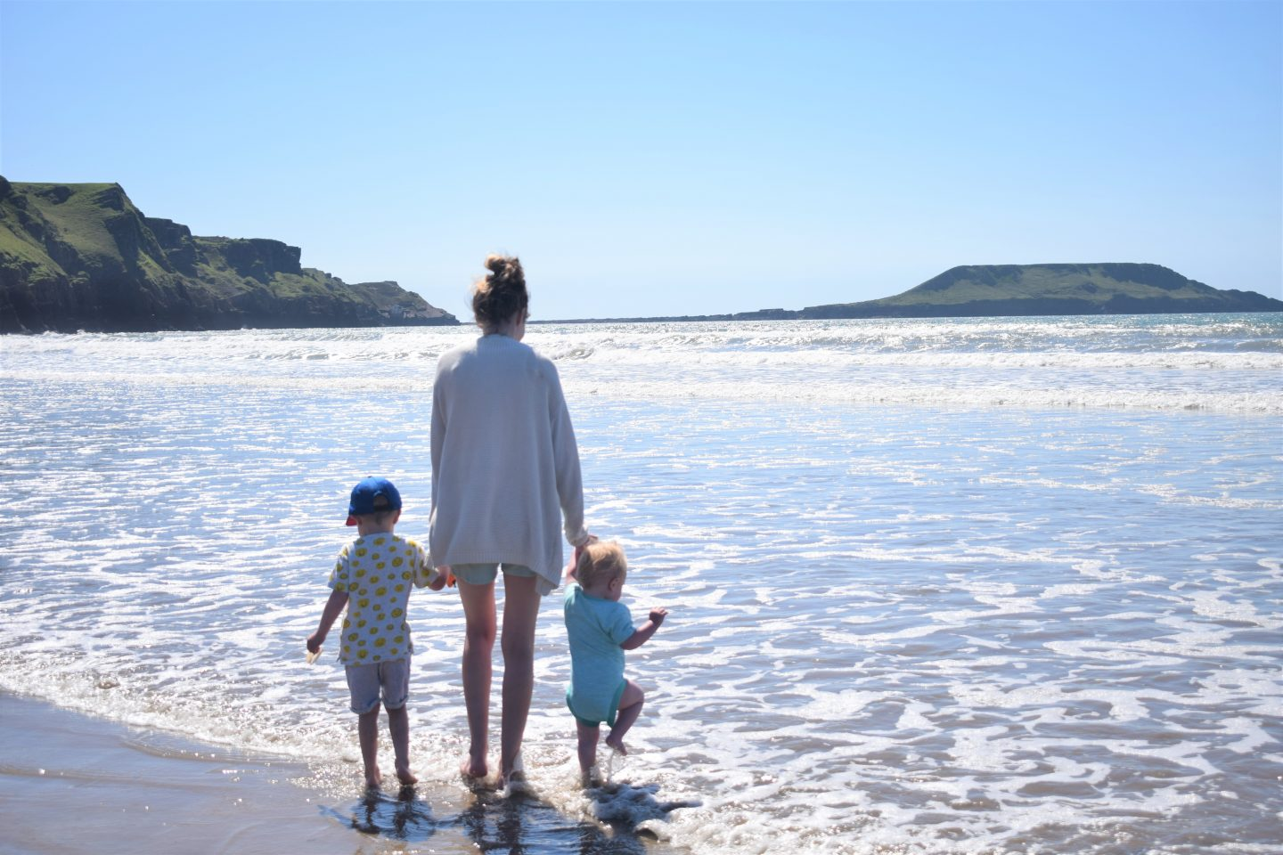 Exploring Swansea with kids – Rhossili