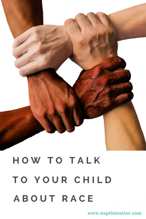 how to talk about race with your child