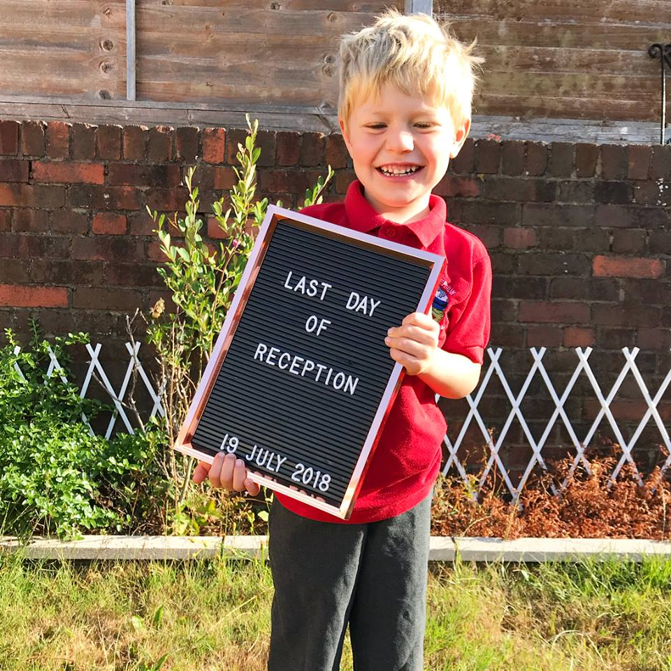 Looking back on Leo's first year of school
