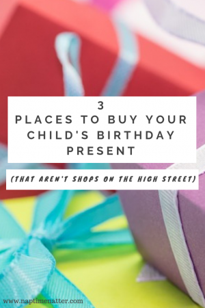 places to buy child's birthday present