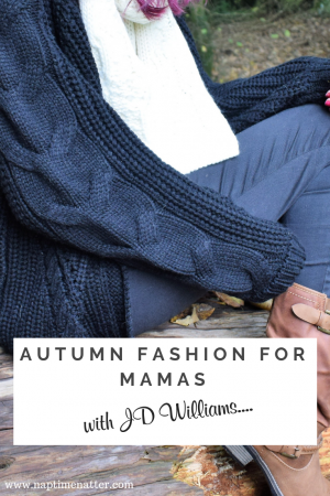 autumn fashion for mamas with JD Williams