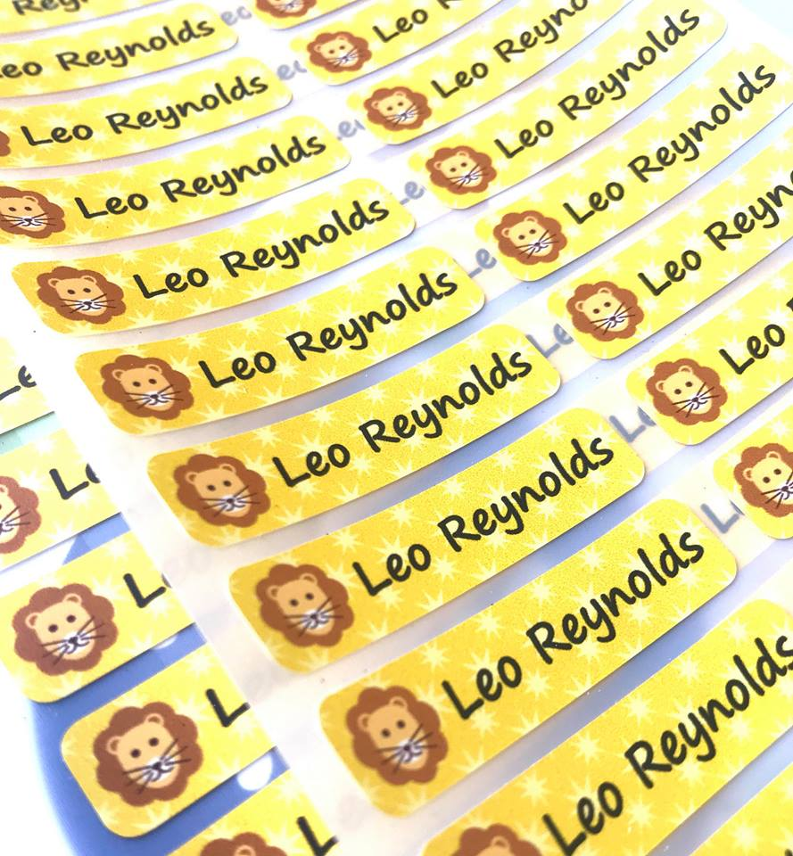 Keeping your child's school uniform safe with Stikets personalised clothes labels