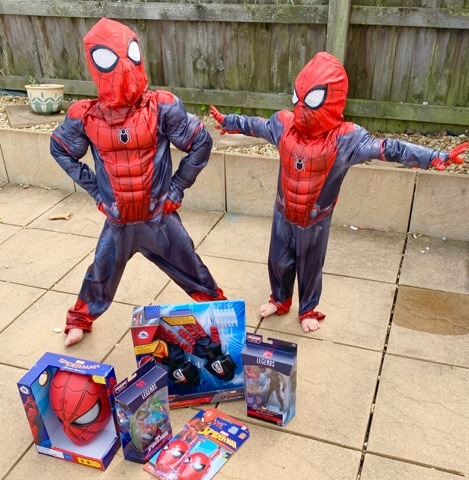 5 reasons my sons are my little super heroes {featuring awesome new Spider Man toys from shopDisney }
