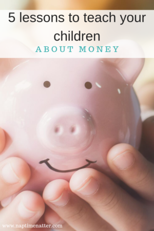 5 lessons to teach children about money