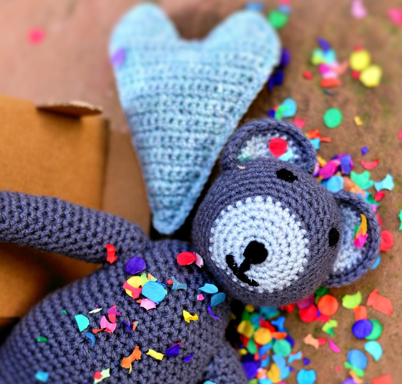 baby keepsakes crochet teddy