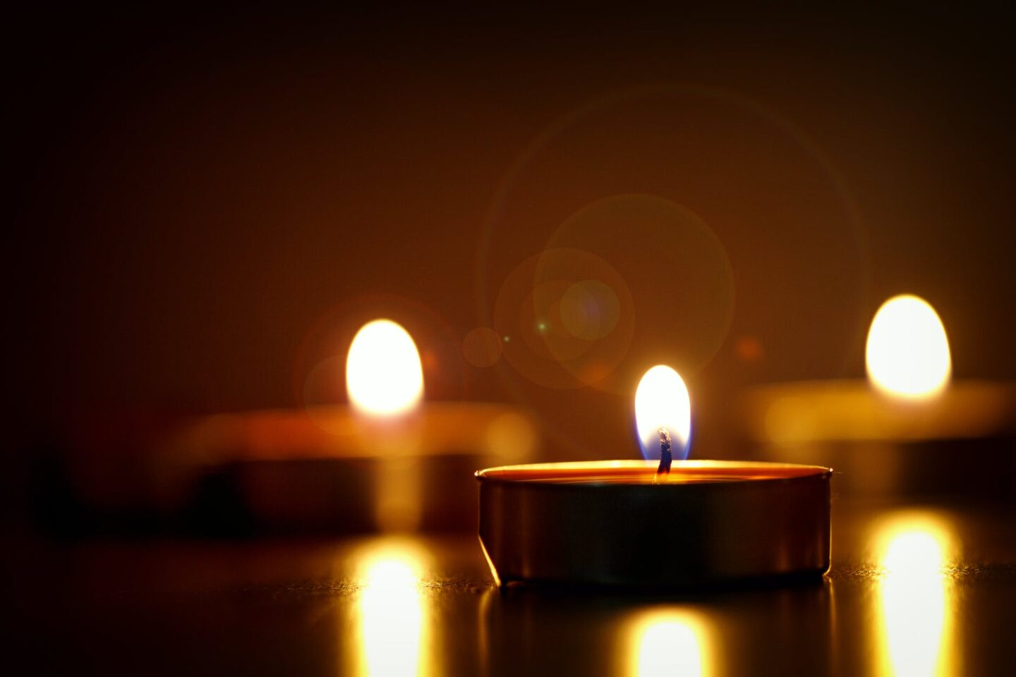 candles soothing anxiety